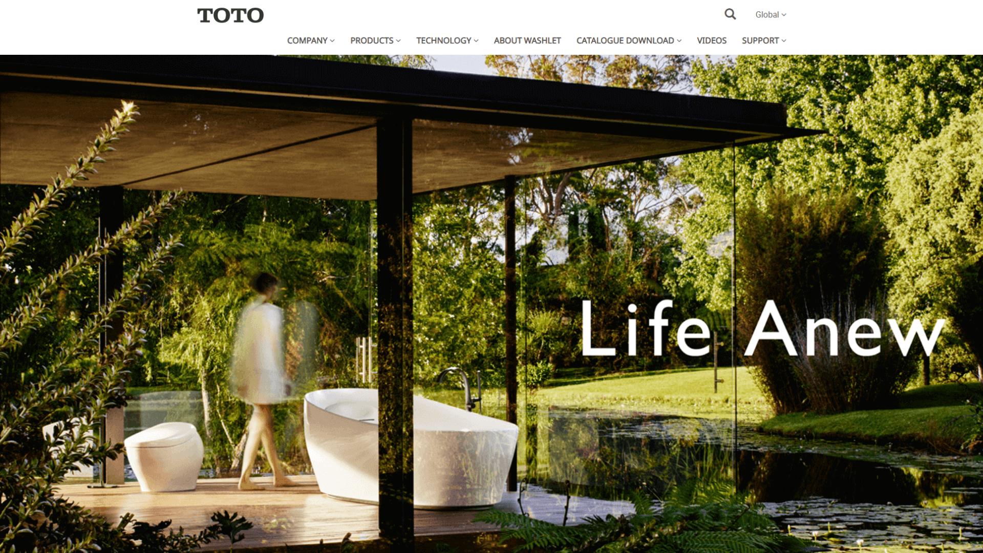 Toto Website Thumbnail