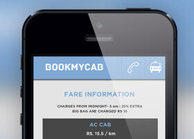 Book my cab android app
