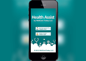 Health assist ios and android app